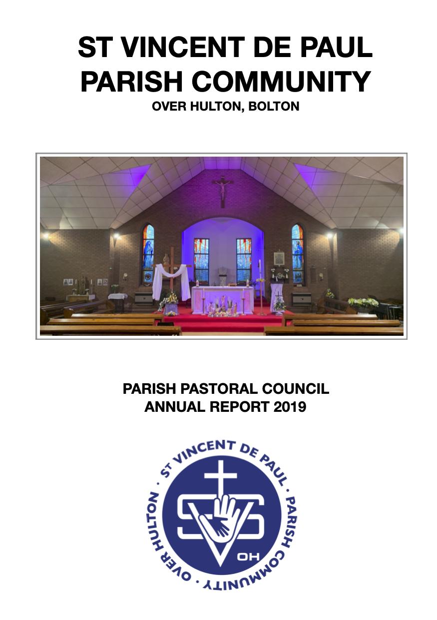 St Vincent's AGM 2019