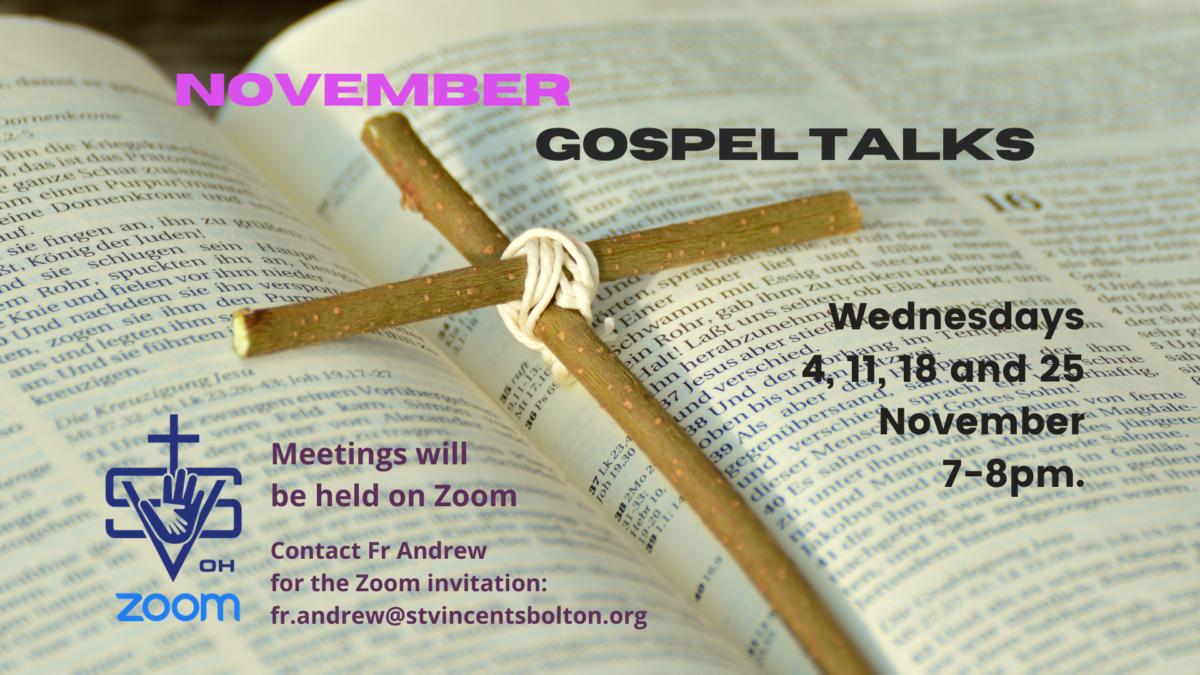 November Talks…